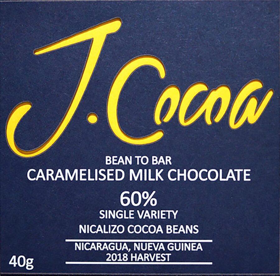60% Caramelised milk chocolate - SMALL