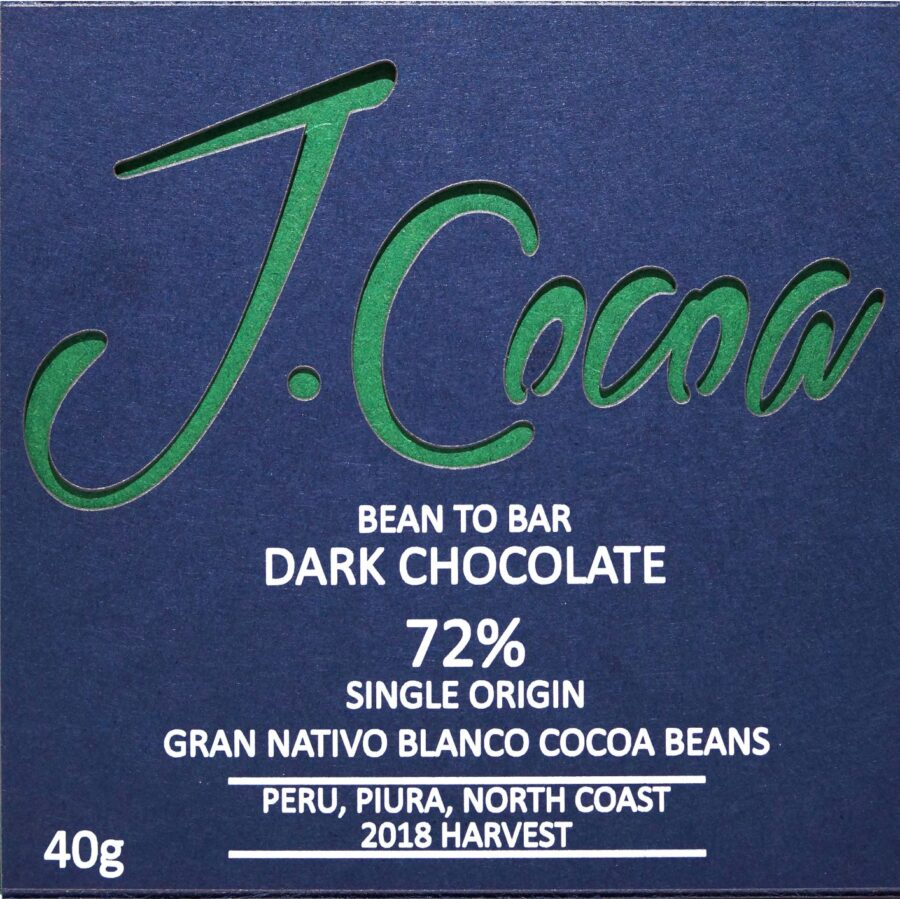 72% Gran Nativo dark chocolate - SMALL