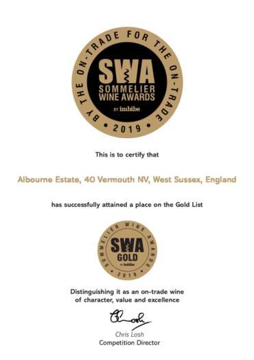 40 Wins Gold Medal at SWA2019