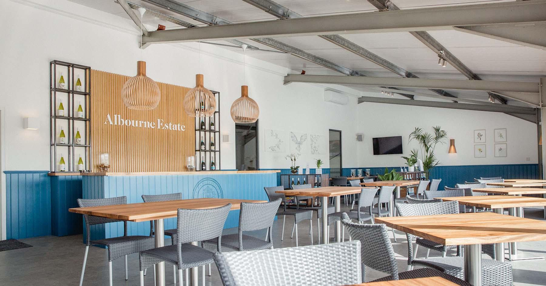 Albourne Estate - Sussex Vineyard - Tasting Room