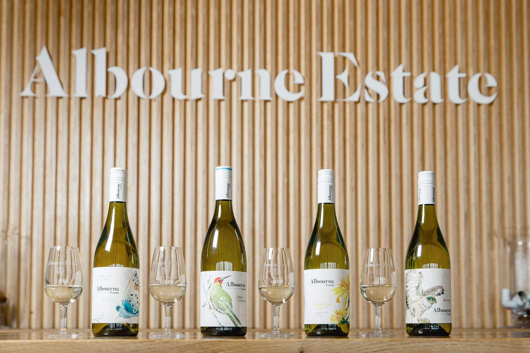 Albourne Estate - Sussex Vineyard - English white wines