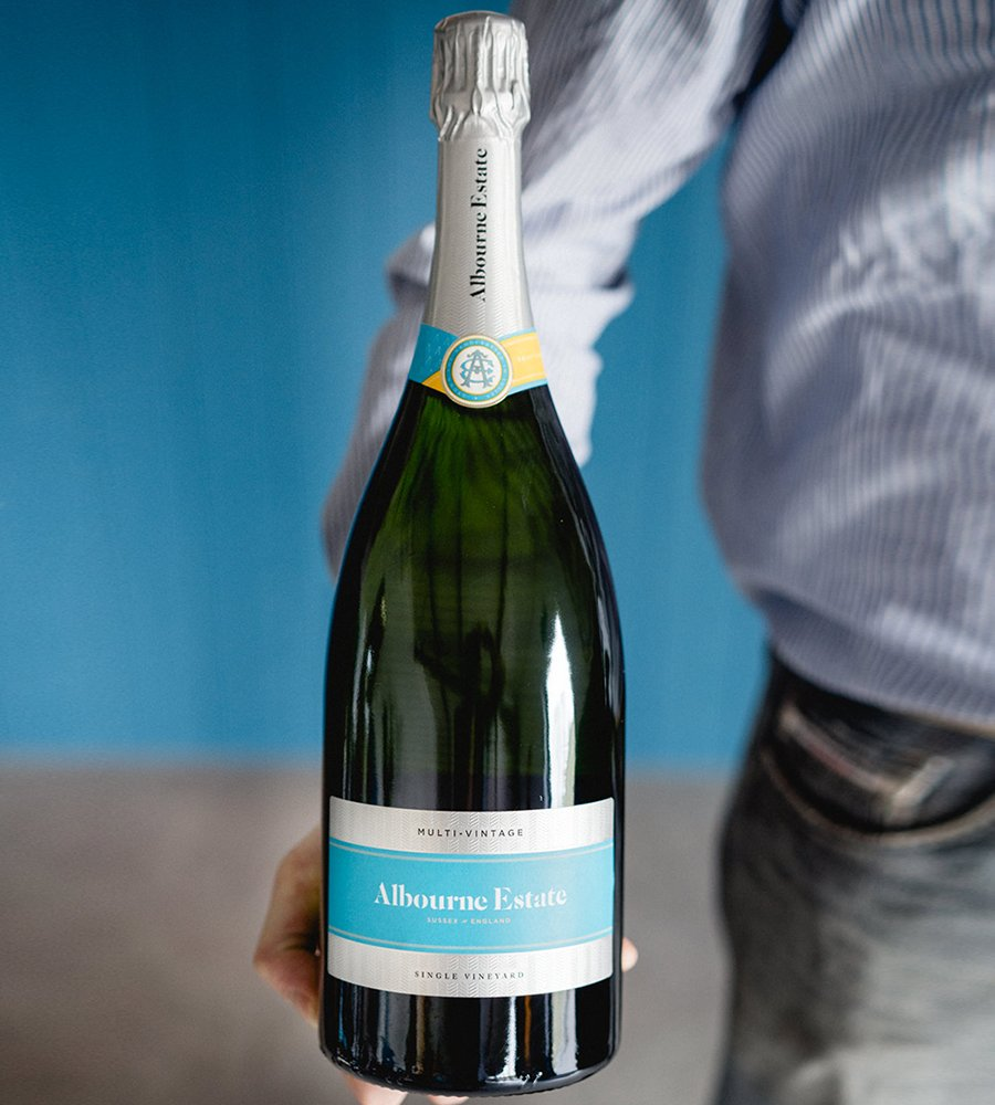 Magnum of English Sparkling Wine