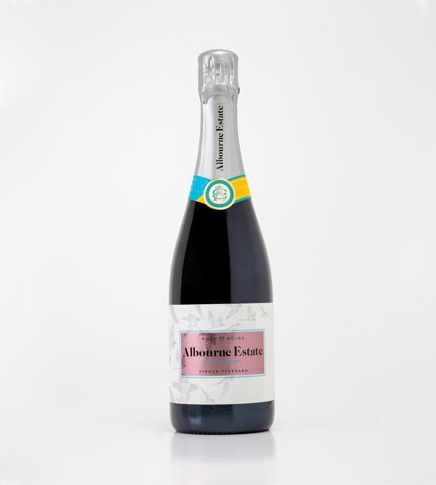English Sparkling Wine - Rose de Noirs - Albourne Estate